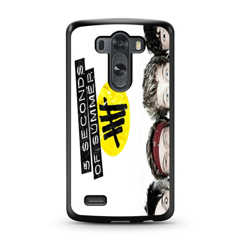 5 Seconds of Summer 5SOS Funny Eyes LG G3 case
