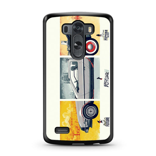 Back To The Future DeLorean DMC 12 LG G3 case