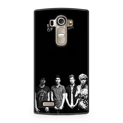 5 Seconds of Summer B/W Photograph LG G4 case