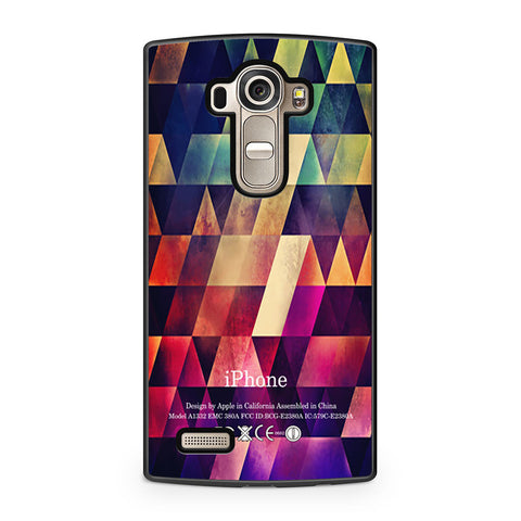 Abstract Apple Geometric LG G4 case