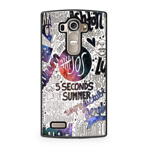 5 Seconds Of Summer Collage LG G4 case