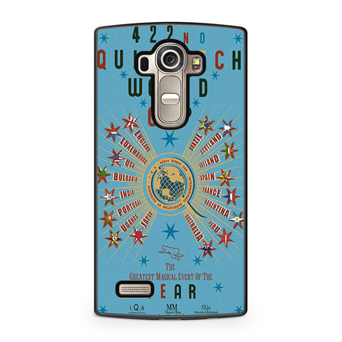 422nd Quidditch World Cup Poster LG G4 case