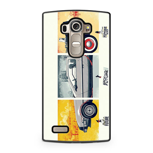 Back To The Future DeLorean DMC 12 LG G4 case