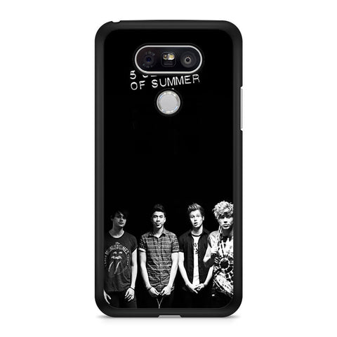 5 Seconds of Summer B/W Photograph LG G5 case