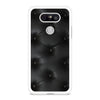Black Leather Buttoned pattern printed LG G5 case