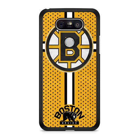 Custom Boston Bruins Hockey LG G5 case