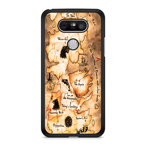 Game of Thrones Map LG G5 case