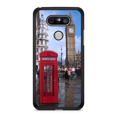 Red Telephone box, Big Ben LG G5 case