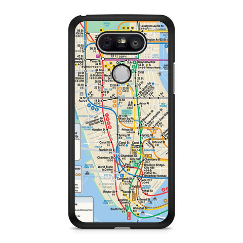 NYC subway map LG G5 case