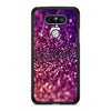 Purple Faux Glitter LG G5 case