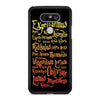 Black Magic Spells Harry Potter LG G5 case