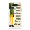 Christmas Elf Quote LG G5 case