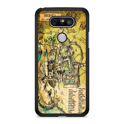 Harry Potter Hogwarts Map LG G5 case