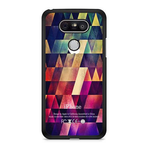 Abstract Apple Geometric LG G5 case