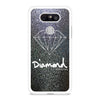 Silver Faux Glitter Diamond Supply Co LG G5 case