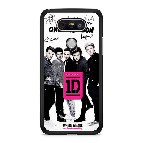 One Direction Book LG G5 case