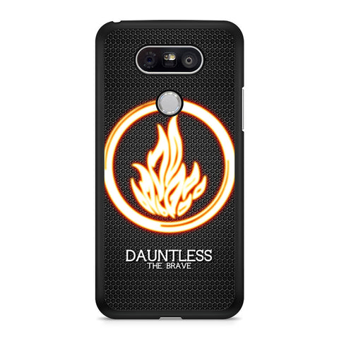 Divergent Dauntless The Brave LG G5 case