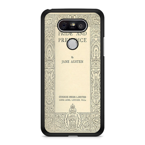 Cover Book Jane Austen LG G5 case