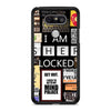 A Bunch of Sherlock LG G5 case