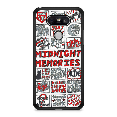 1D Midnight Memories Collage LG G5 case