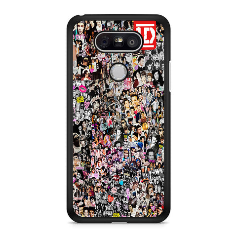One Direction Collage Art LG G5 case