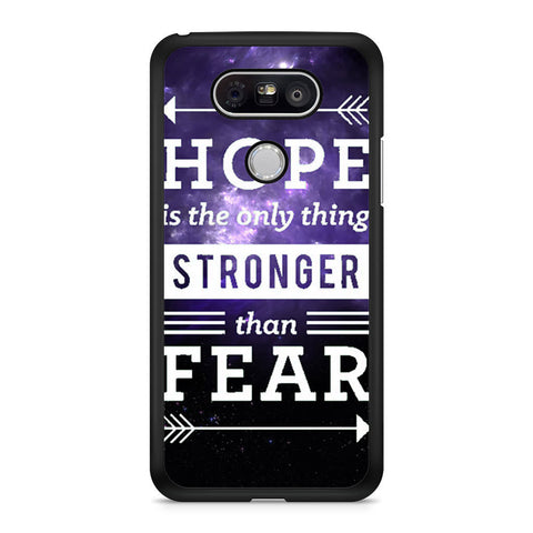 The Hunger Games Hope Quotes LG G5 case