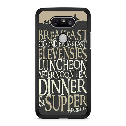 The Hobbit Diet LG G5 case