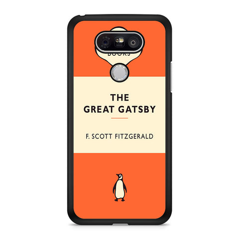 The Great Gatsby Classic Book F. Scott Fitzgerald LG G5 case