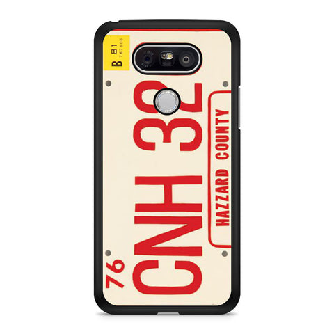 The Dukes Of Hazzard License Plate LG G5 case