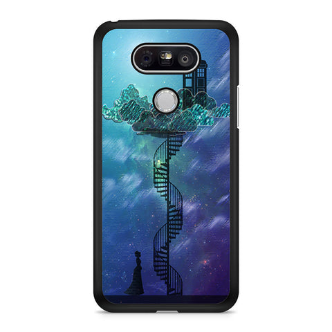 Tardis In Victorian Sky Collage Art LG G5 case