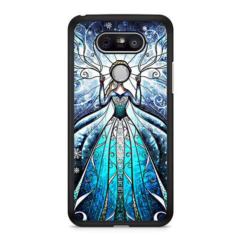 Princess Elsa Stained Glass LG G5 case