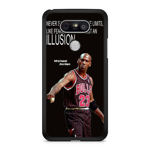 Micheal Jordan Quote LG G5 case