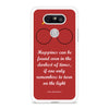 Happiness Quote Harry Potter LG G5 case