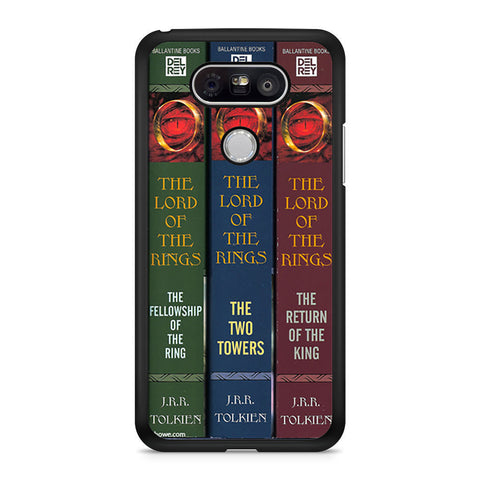 Lord Of The Rings Book Style DVD Collection Set LG G5 case