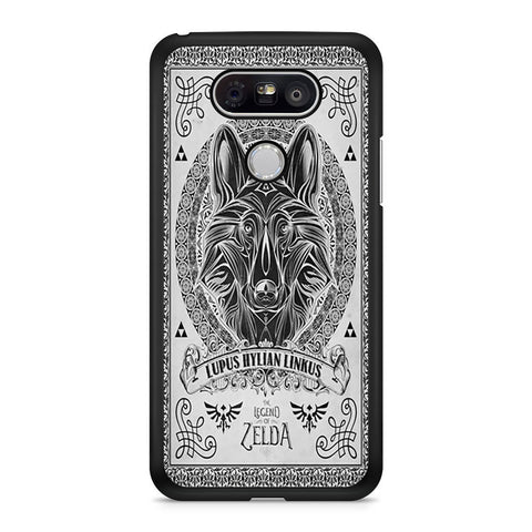 Legend Of Zelda Twilight Wolf Link Line LG G5 case