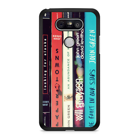 John Green All Books LG G5 case