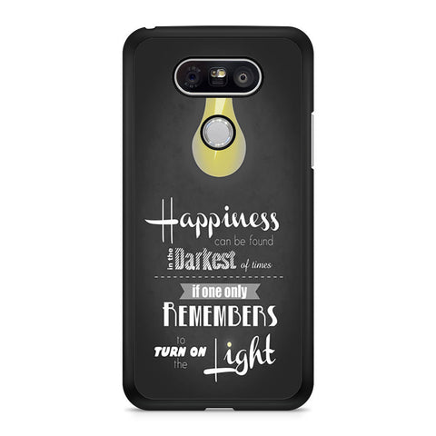 Harry Potter Happiness Quote LG G5 case