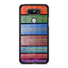 Harry Potter Book's New Series LG G5 case