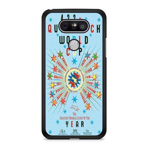 Harry Potter 422 Quidditch World Cup LG G5 case