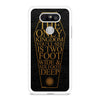 Bring Me The Horizon Coffin The House Of Wolves Quote Lyric LG G5 case