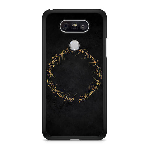 Lord Of The Rings Circle Script LG G5 case