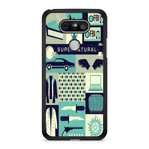 Supernatural Collage Art LG G5 case
