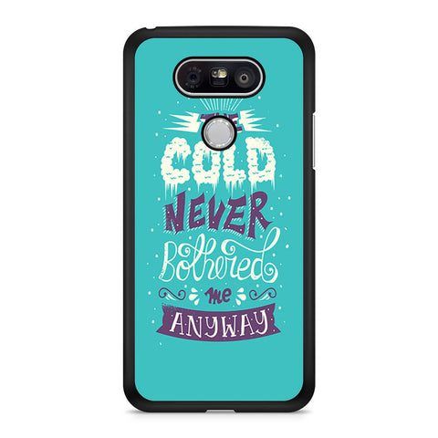 Frozen Collage Quotes LG G5 case