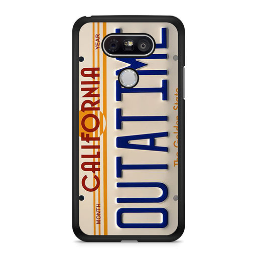 Back To The Future Delorean License Plate LG G5 case