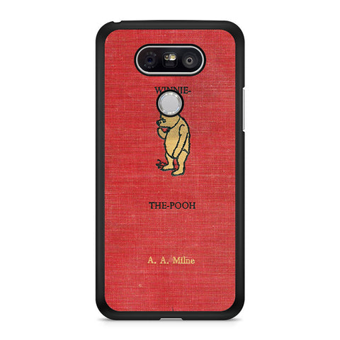 Winnie The Pooh Cover Book LG G5 case