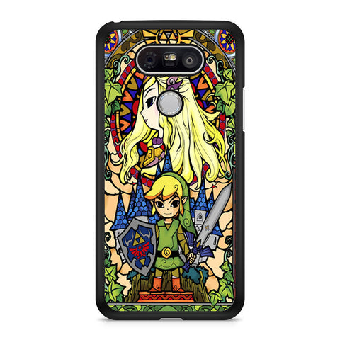 Legend Of Zelda Stained Glass LG G5 case