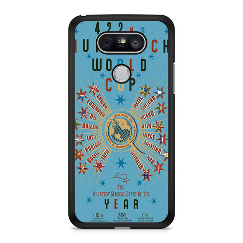 422nd Quidditch World Cup Poster LG G5 case