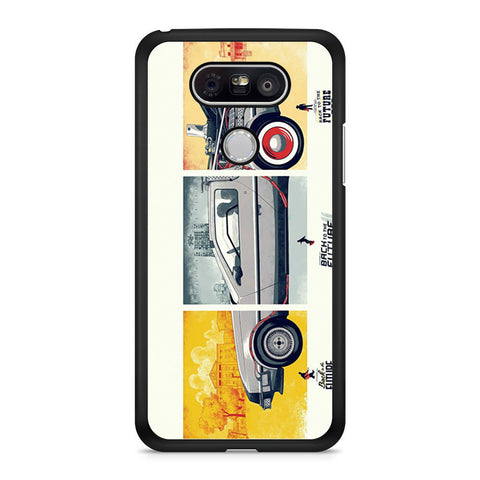 Back To The Future DeLorean DMC 12 LG G5 case
