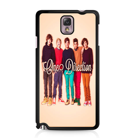 1D One Direction Personnel Samsung Galaxy Note 3 case