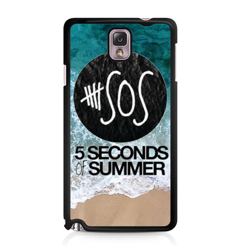 5 Seconds of Summer Band The Beach Samsung Galaxy Note 3 case